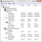Open Hardware Monitor 0.6 посмотреть температуру процессора AMD - Intel.