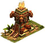 Защитное сооружение Ритуальный огонь.