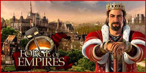 Карты континентов Forge of Empires.